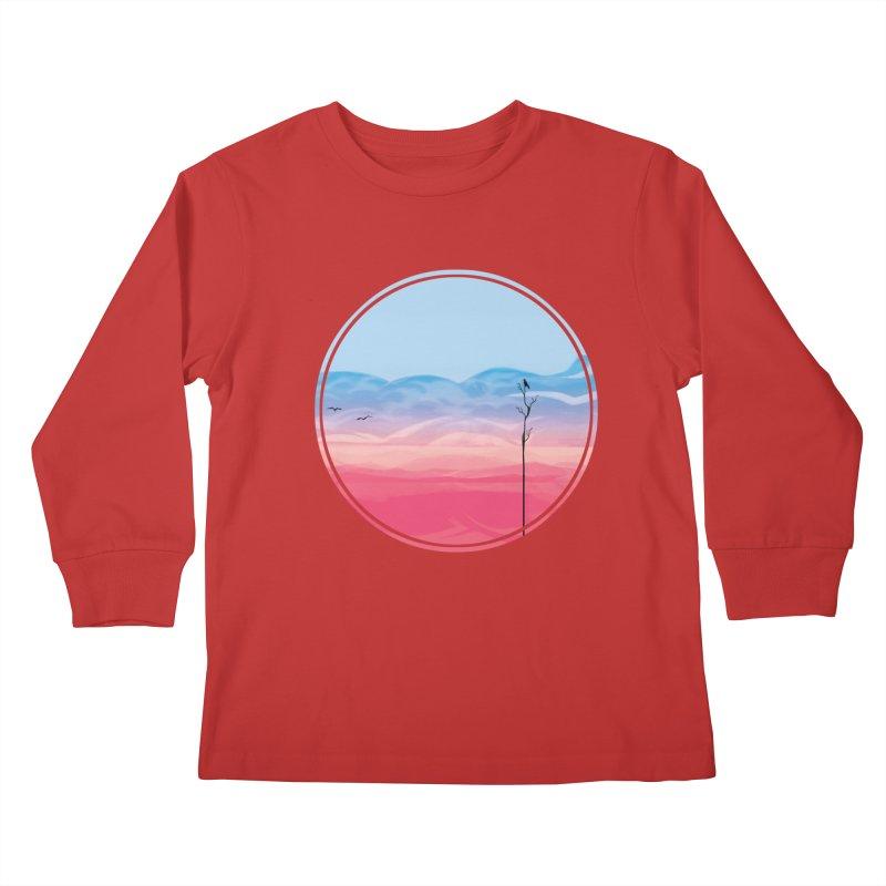 Sunrise Kids Longsleeve T-Shirt by alisa's Artist Shop