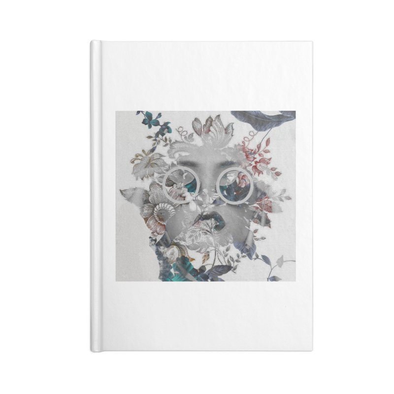 Beauty in Chaos Accessories Lined Journal Notebook by alisajane's Artist Shop