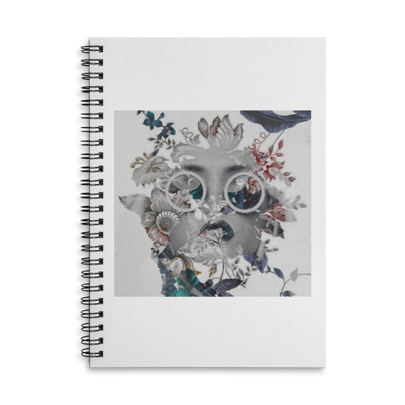 Beauty in Chaos Accessories Lined Spiral Notebook by alisajane's Artist Shop