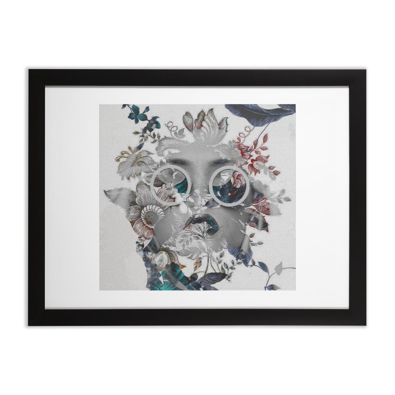 Beauty in Chaos Home Framed Fine Art Print by alisajane's Artist Shop