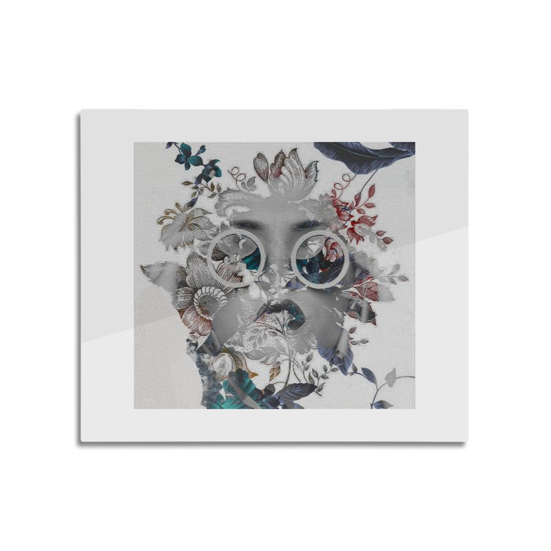 Beauty in Chaos Home Mounted Aluminum Print by alisajane's Artist Shop