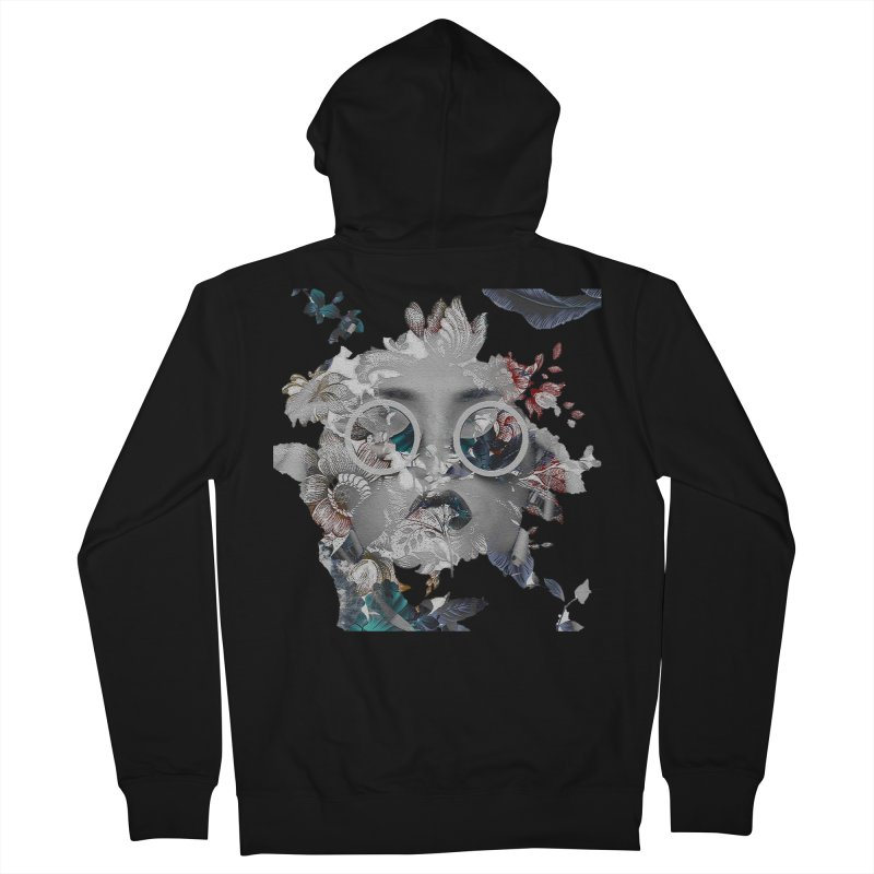 Beauty in Chaos Women's French Terry Zip-Up Hoody by alisajane's Artist Shop