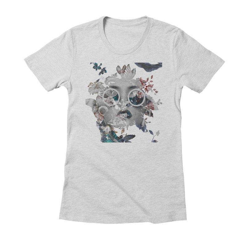 Beauty in Chaos Women's Fitted T-Shirt by alisajane's Artist Shop
