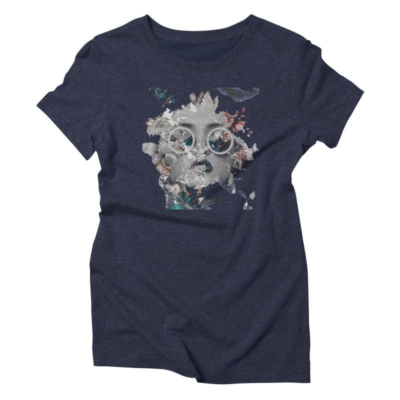 Beauty in Chaos Women's Triblend T-Shirt by alisajane's Artist Shop