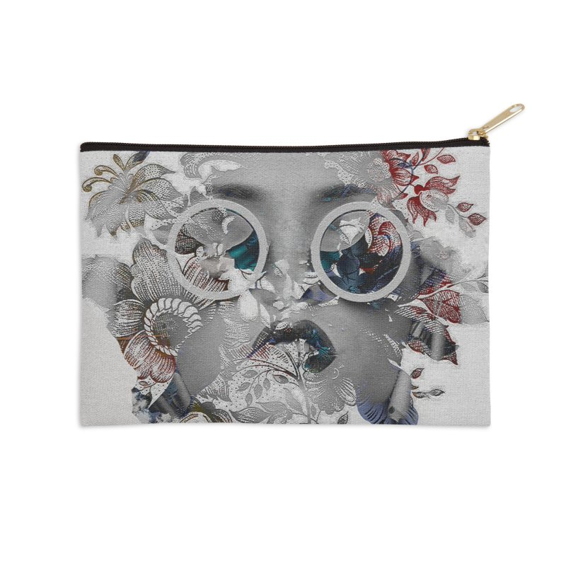 Beauty in Chaos Accessories Zip Pouch by alisajane's Artist Shop
