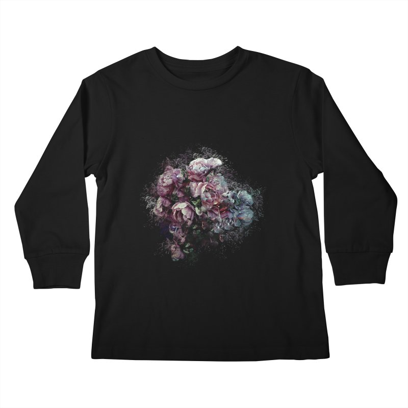 Splash of Colour Kids Longsleeve T-Shirt by alisajane's Artist Shop