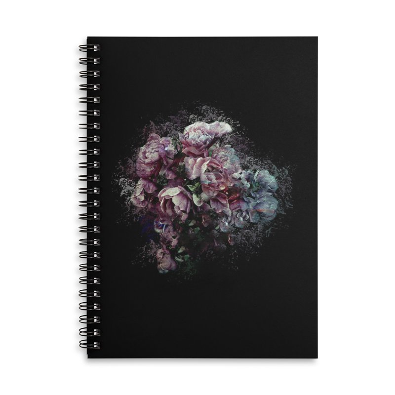 Splash of Colour Accessories Lined Spiral Notebook by alisajane's Artist Shop