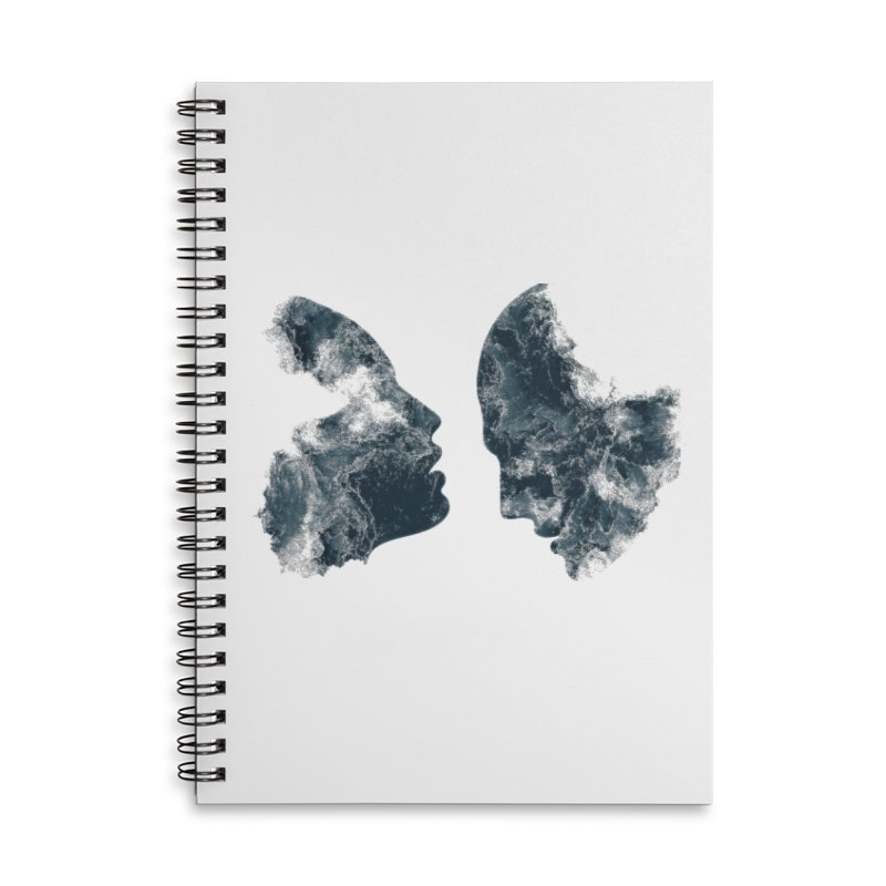 Âmes Accessories Lined Spiral Notebook by alisajane's Artist Shop