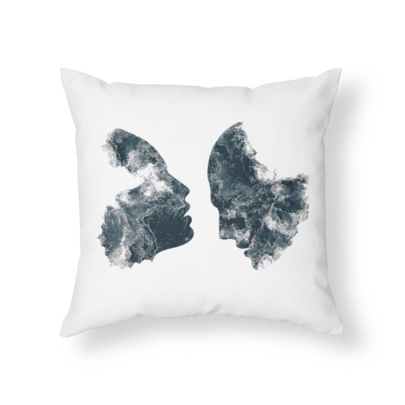 Âmes Home Throw Pillow by alisajane's Artist Shop