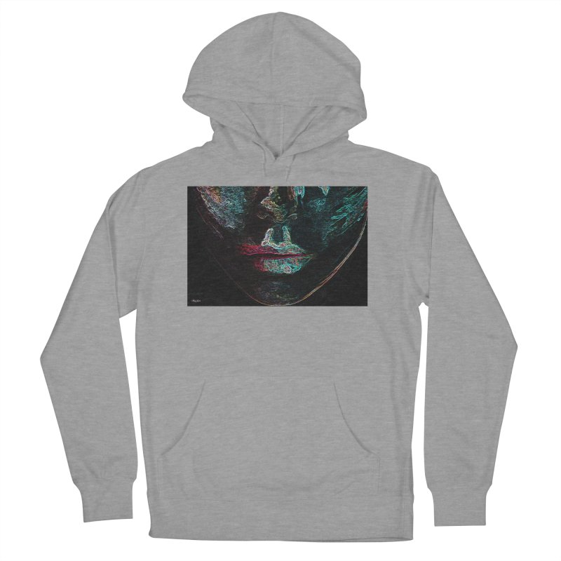 Your Lips Women's French Terry Pullover Hoody by alisajane's Artist Shop