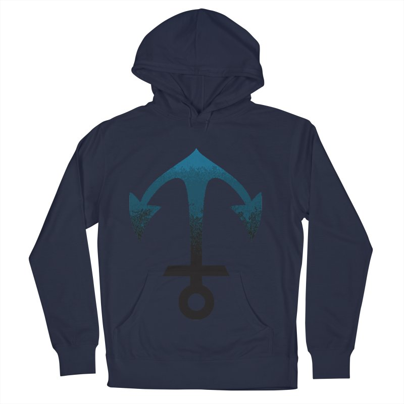 Anchor Men's French Terry Pullover Hoody by alisajane's Artist Shop