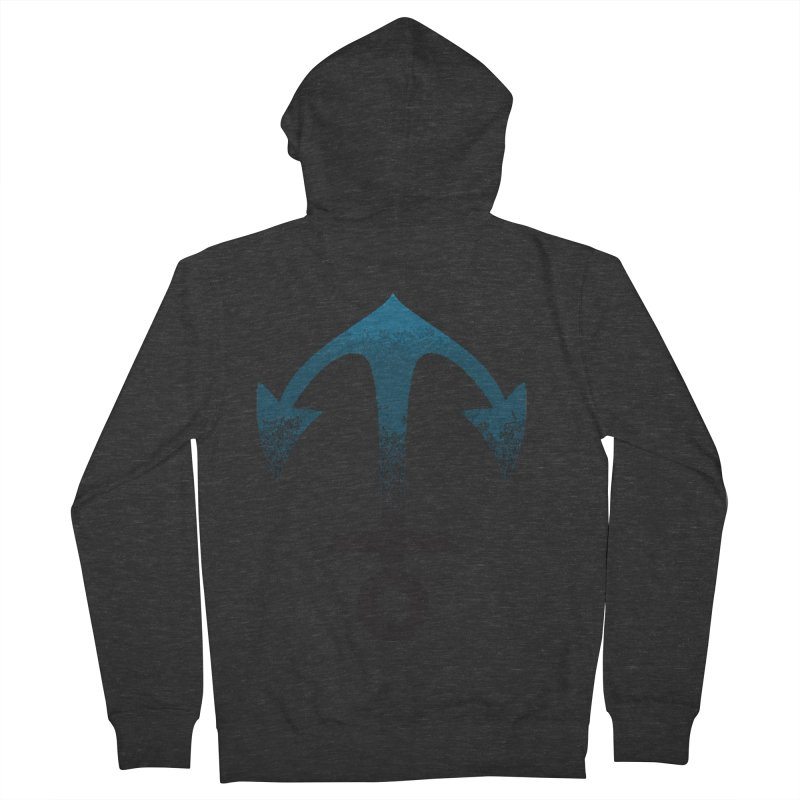 Anchor Men's French Terry Zip-Up Hoody by alisajane's Artist Shop