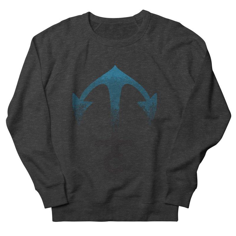 Anchor Men's French Terry Sweatshirt by alisajane's Artist Shop