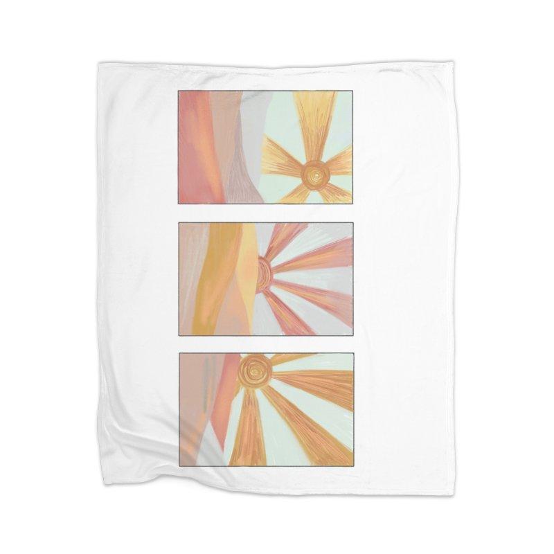 Sunshine Home Blanket by Alison Sommer's Artist Shop