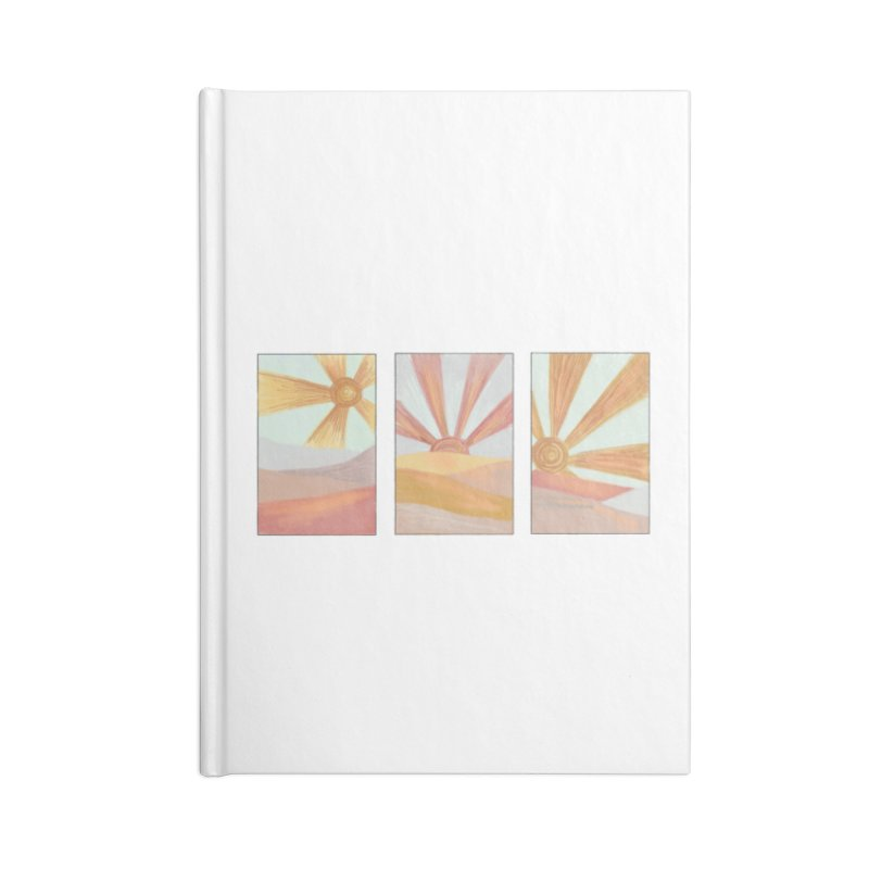 Sunshine Accessories Notebook by Alison Sommer's Artist Shop