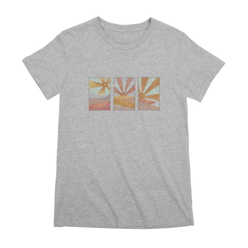 Sunshine Women's Premium T-Shirt by Alison Sommer's Artist Shop