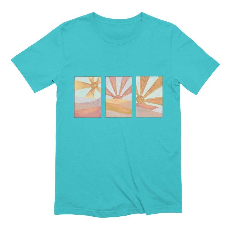 Sunshine Men's Extra Soft T-Shirt by Alison Sommer's Artist Shop
