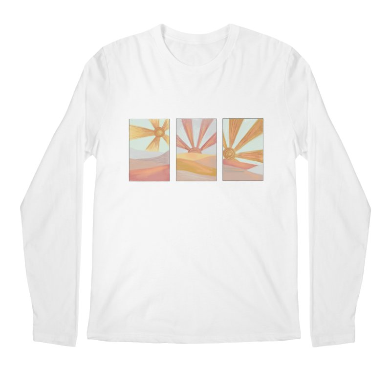 Sunshine Men's Regular Longsleeve T-Shirt by Alison Sommer's Artist Shop
