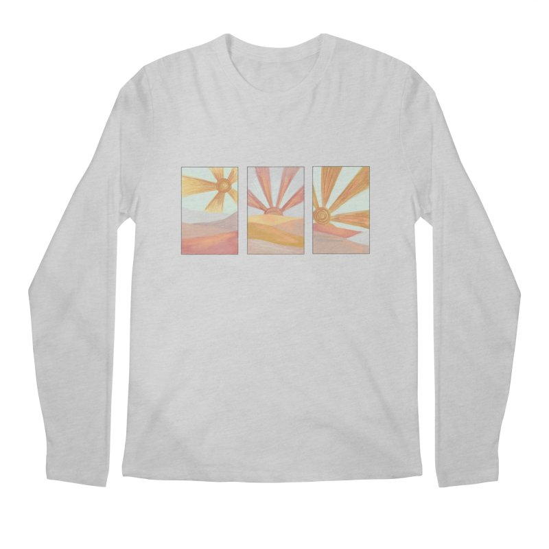 Sunshine Men's Longsleeve T-Shirt by Alison Sommer's Artist Shop