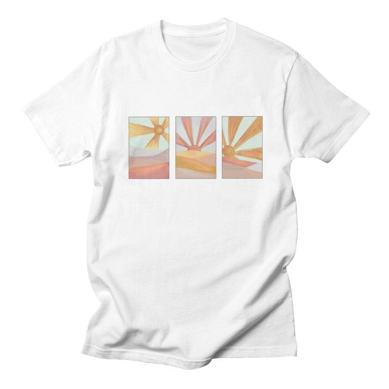 Sunshine Men's Regular T-Shirt by Alison Sommer's Artist Shop