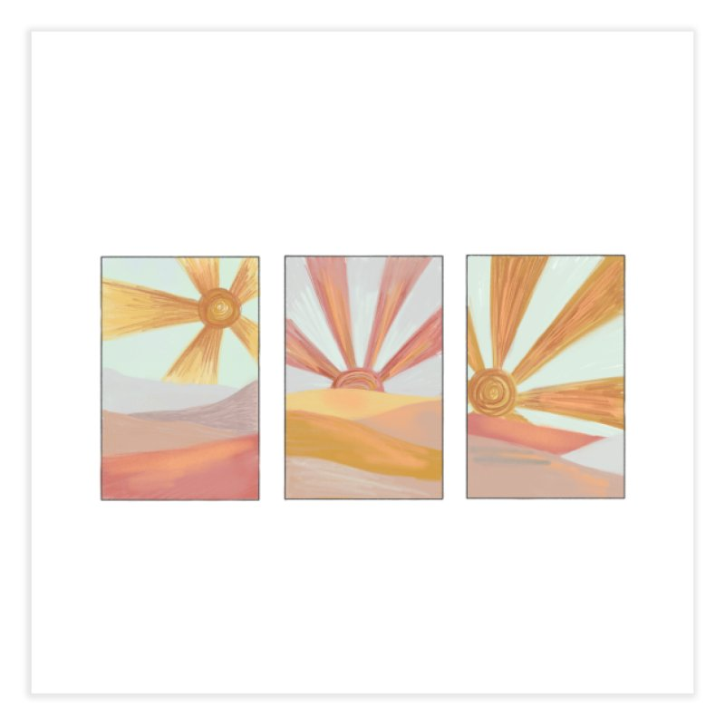 Sunshine Home Fine Art Print by Alison Sommer's Artist Shop