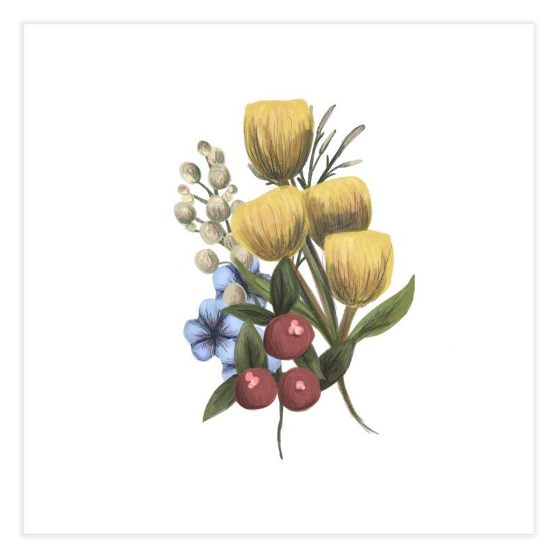 Flowers Home Fine Art Print by Alison Sommer's Artist Shop