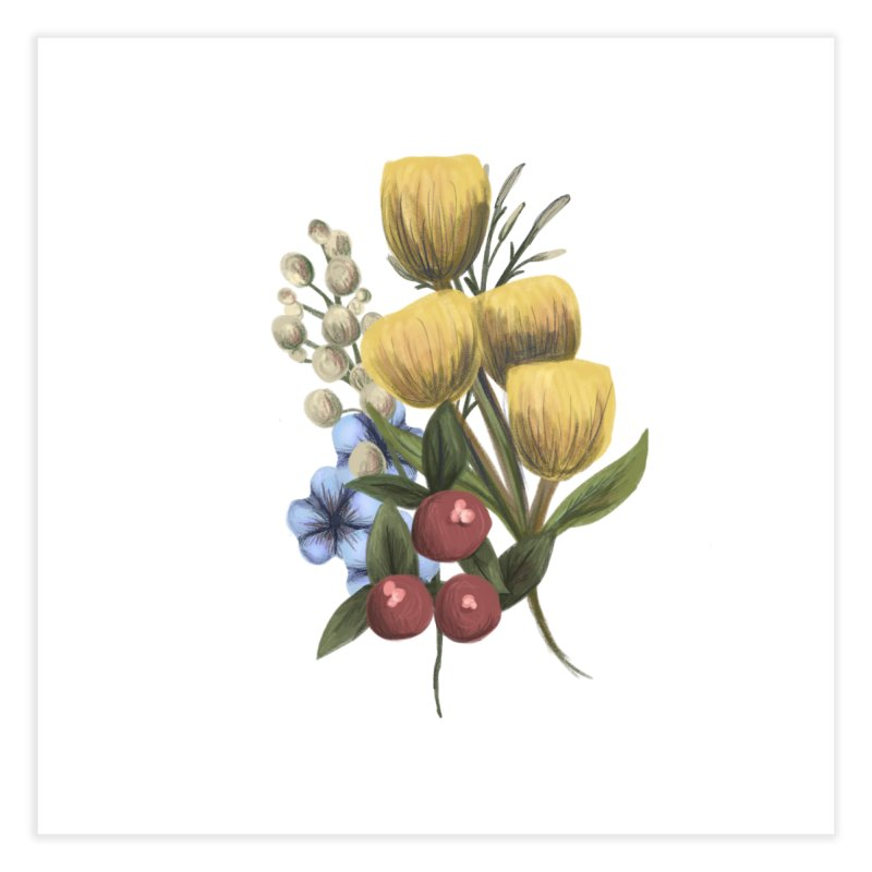 Flowers Home Fine Art Print by Alison Sommer's Artist Shop