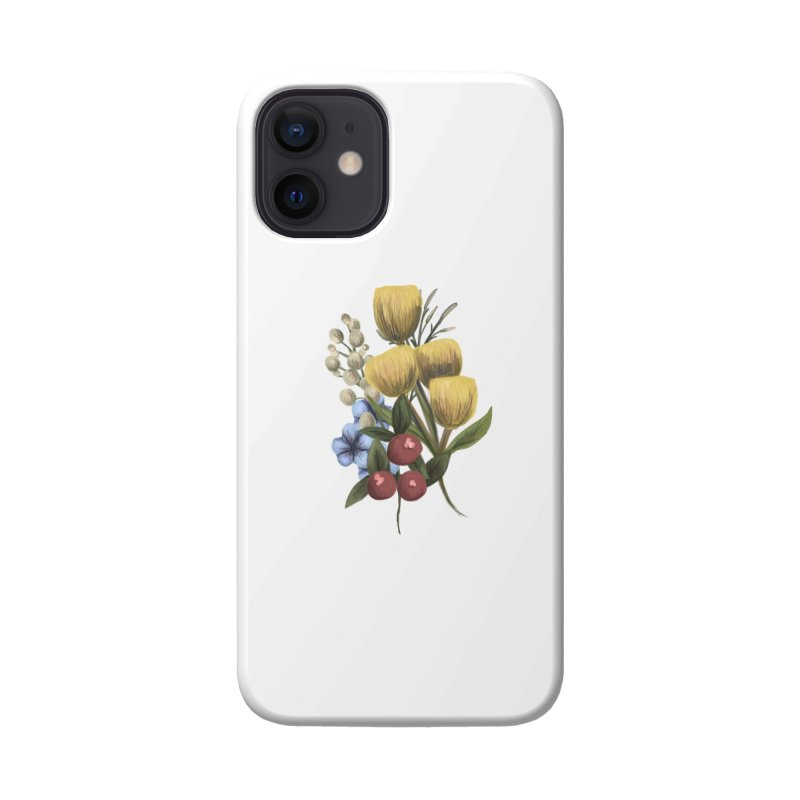Flowers Accessories Phone Case by Alison Sommer's Artist Shop