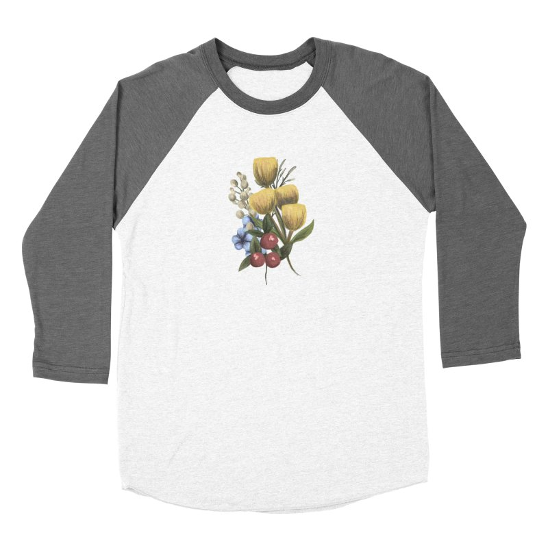 Flowers Women's Longsleeve T-Shirt by Alison Sommer's Artist Shop