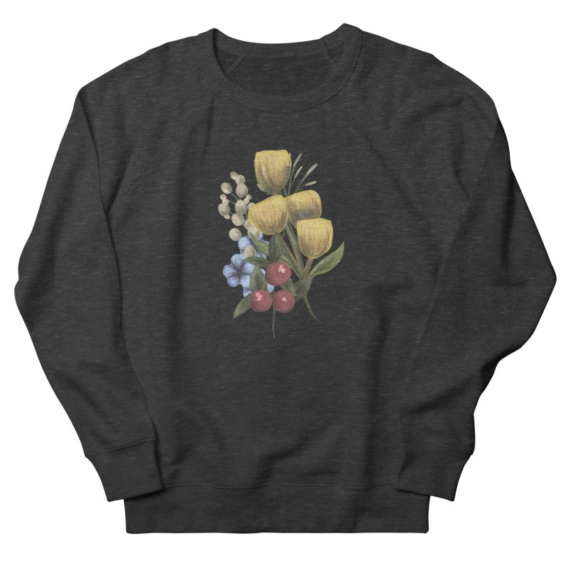 Flowers Women's Sweatshirt by Alison Sommer's Artist Shop
