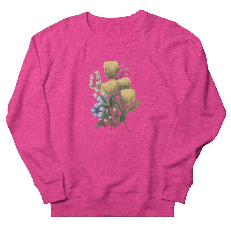 Flowers Women's Sweatshirt by Alison Sommer's Artist Shop