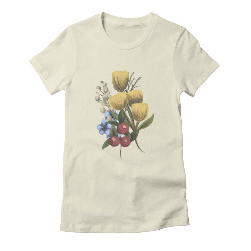 Flowers Women's T-Shirt by Alison Sommer's Artist Shop
