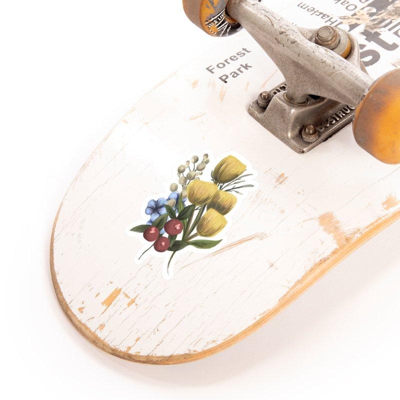 Flowers Accessories Sticker by Alison Sommer's Artist Shop