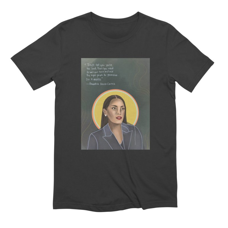 AOC Men's Extra Soft T-Shirt by Alison Sommer's Artist Shop