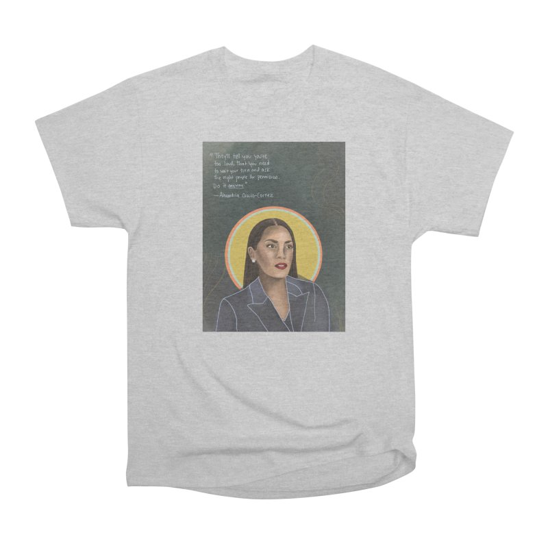 AOC Women's Heavyweight Unisex T-Shirt by Alison Sommer's Artist Shop