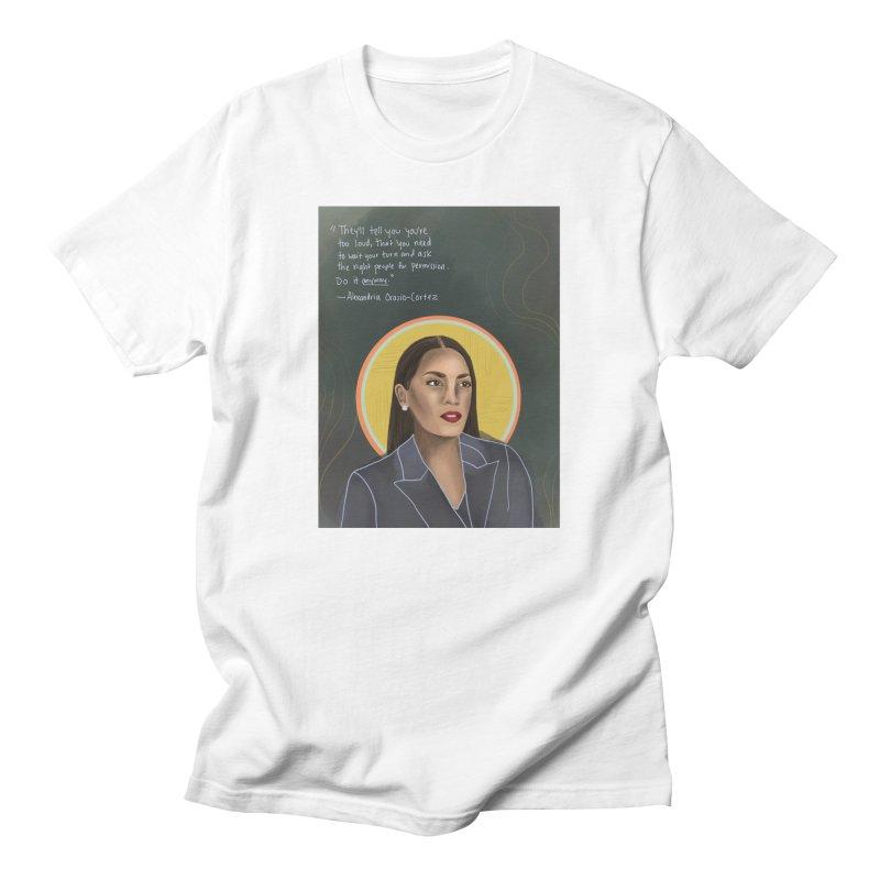 AOC Men's T-Shirt by Alison Sommer's Artist Shop