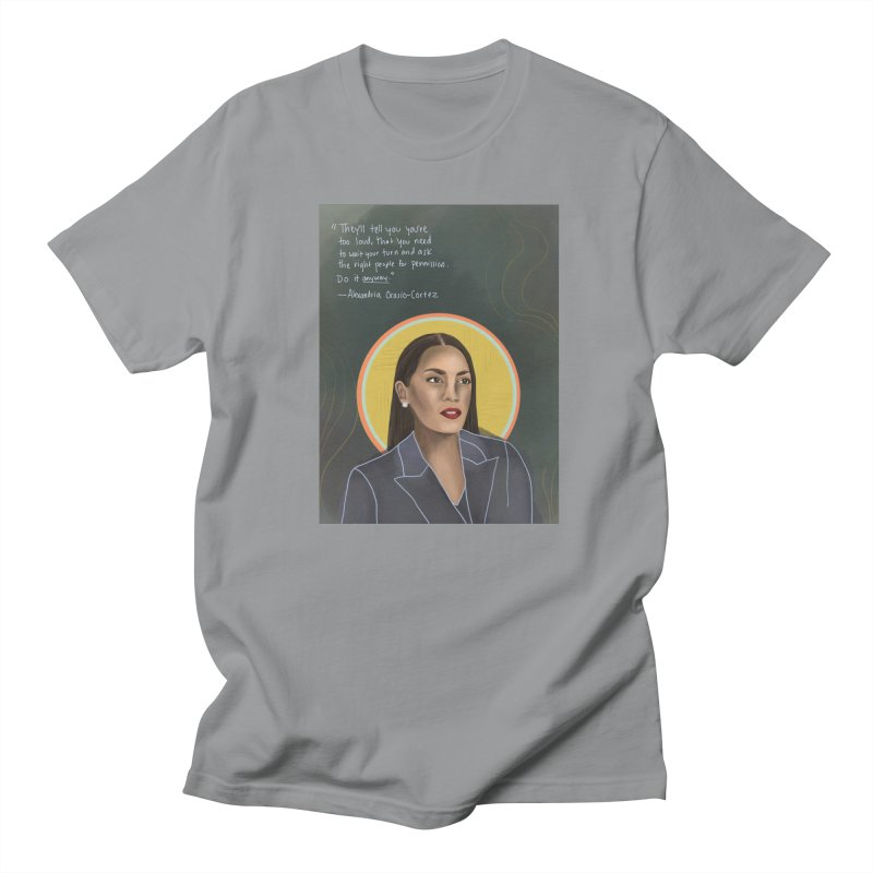 AOC Men's Regular T-Shirt by Alison Sommer's Artist Shop