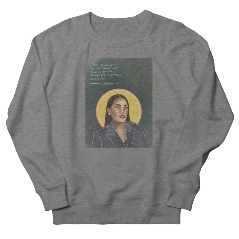 AOC Women's French Terry Sweatshirt by Alison Sommer's Artist Shop
