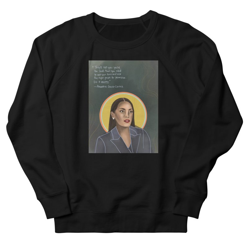 AOC Men's French Terry Sweatshirt by Alison Sommer's Artist Shop