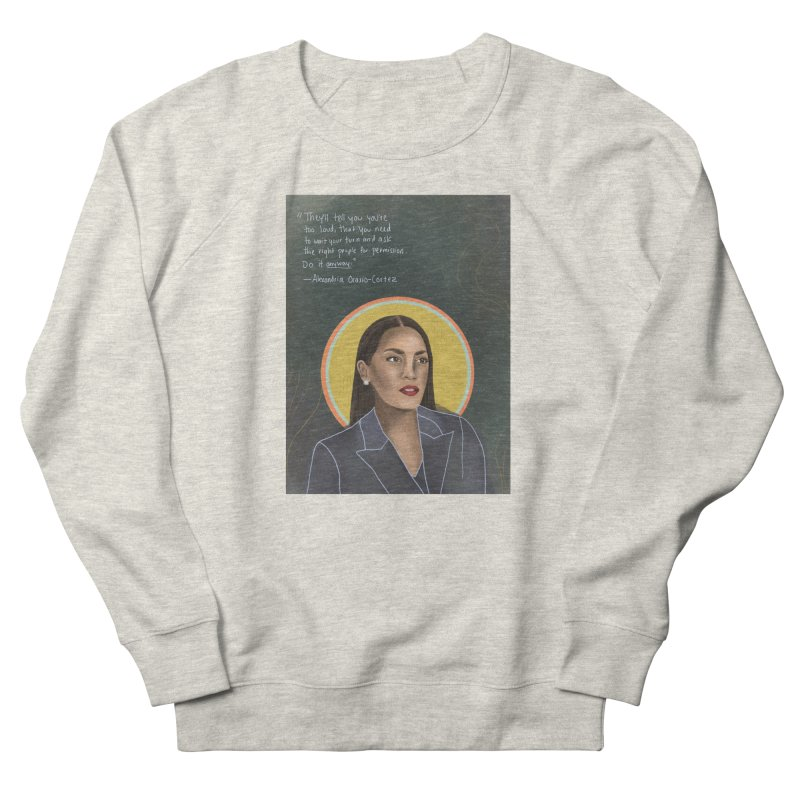 AOC Men's Sweatshirt by Alison Sommer's Artist Shop