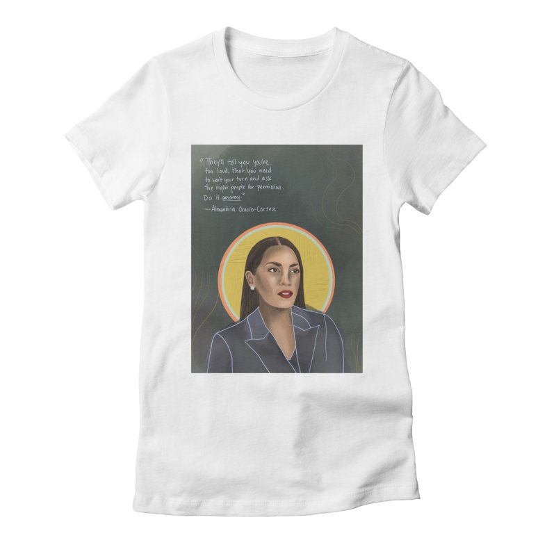 AOC Women's T-Shirt by Alison Sommer's Artist Shop