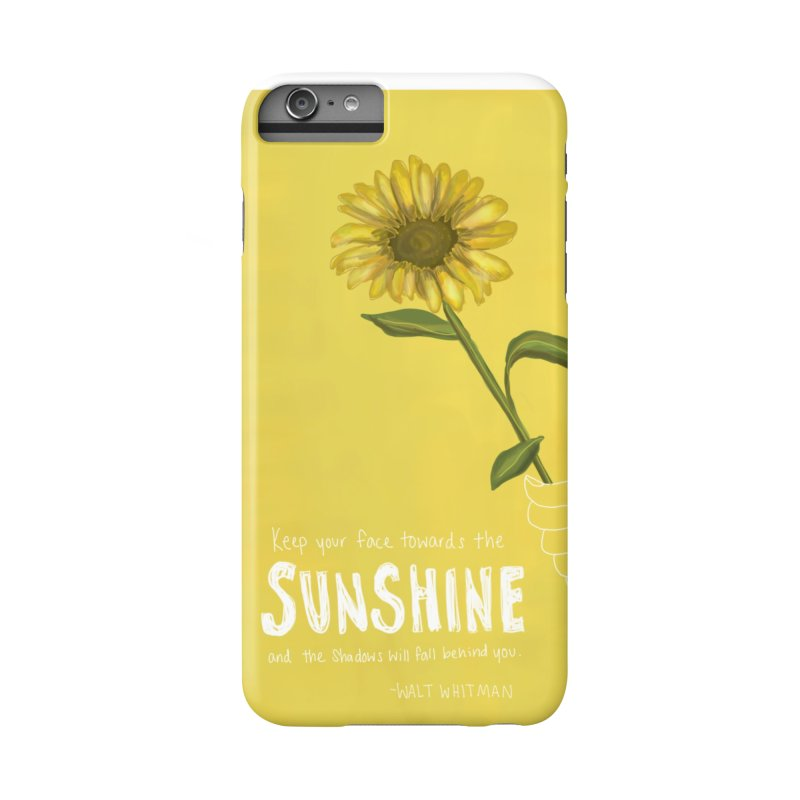 Sunflower Accessories Phone Case by Alison Sommer's Artist Shop