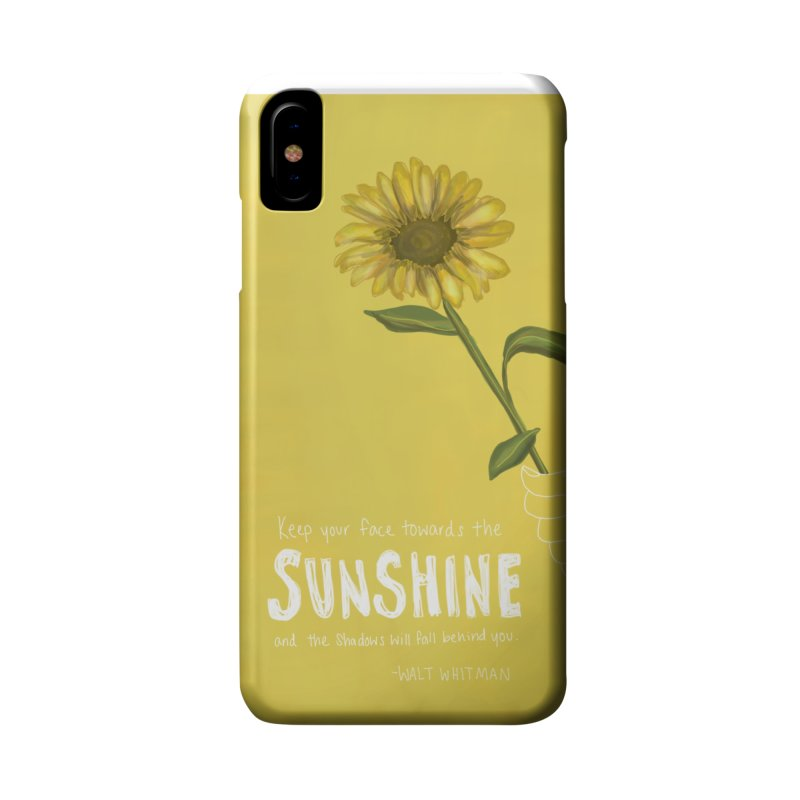 Sunflower Accessories Phone Case by Alison Sommer's Artist Shop
