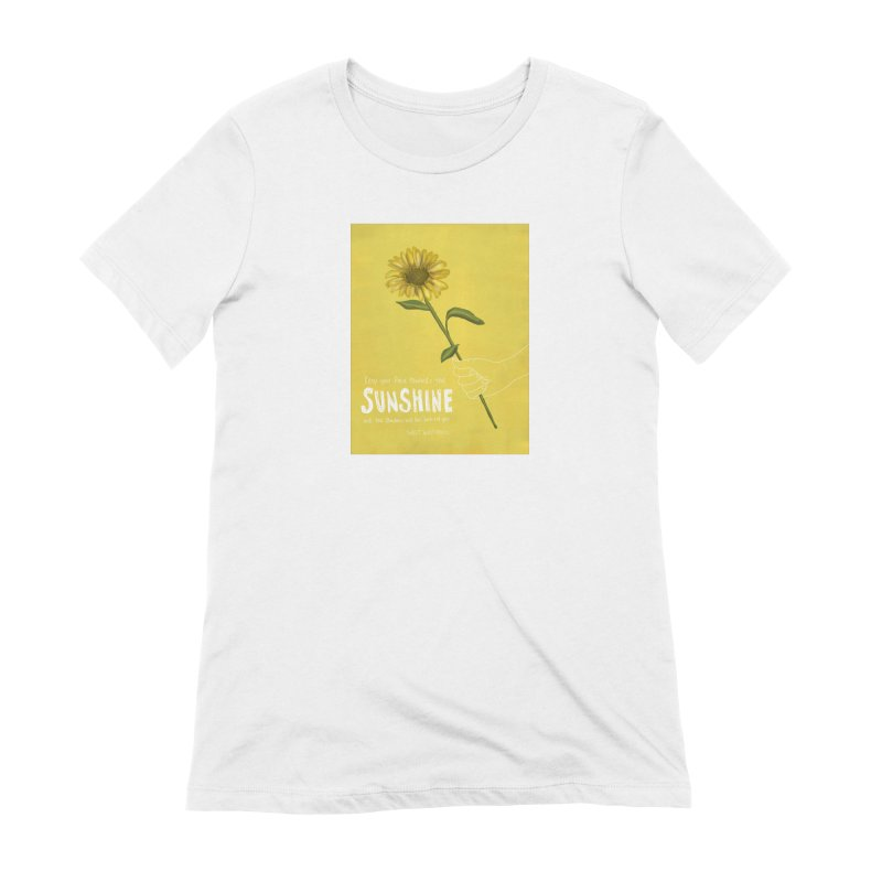 Sunflower Women's T-Shirt by Alison Sommer's Artist Shop