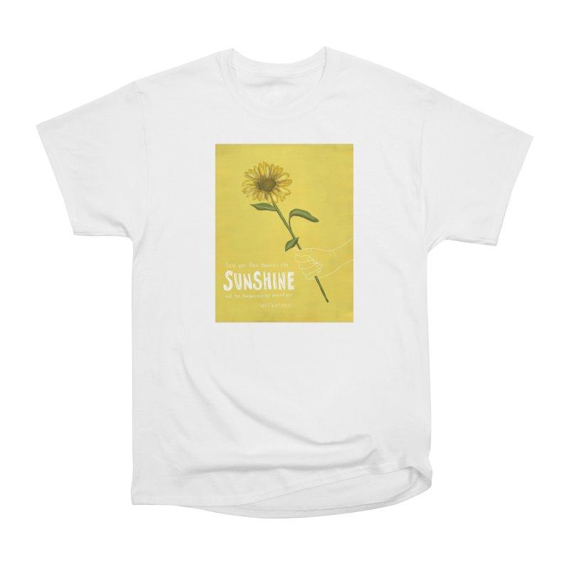 Sunflower Women's T-Shirt by Alison Sommer's Artist Shop
