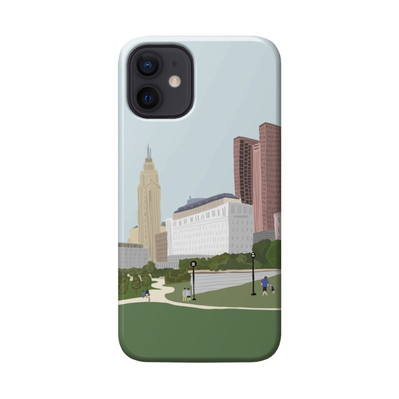Downtown Columbus Accessories Phone Case by Alison Sommer's Artist Shop
