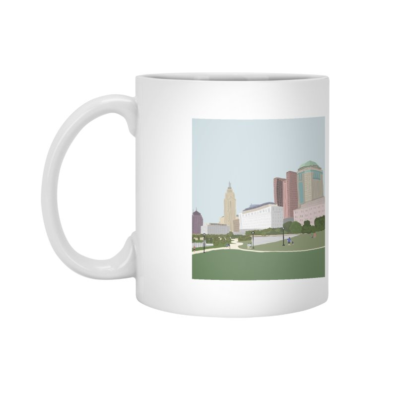 Downtown Columbus Accessories Mug by Alison Sommer's Artist Shop
