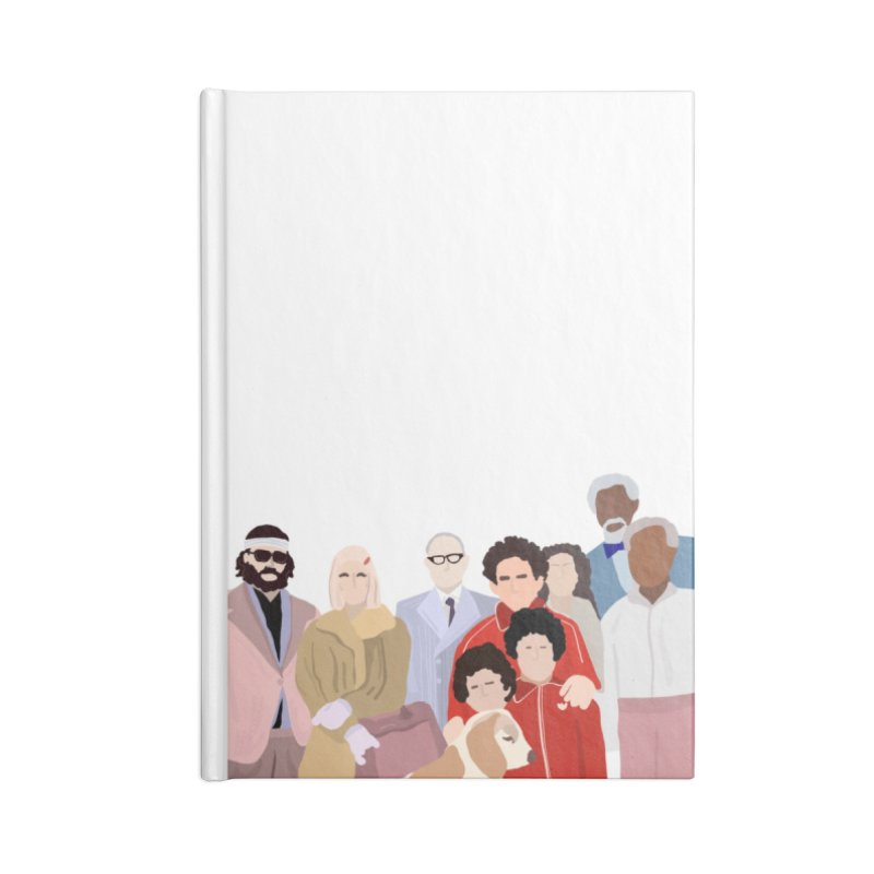 The Royal Tenenbaums Accessories Notebook by Alison Sommer's Artist Shop