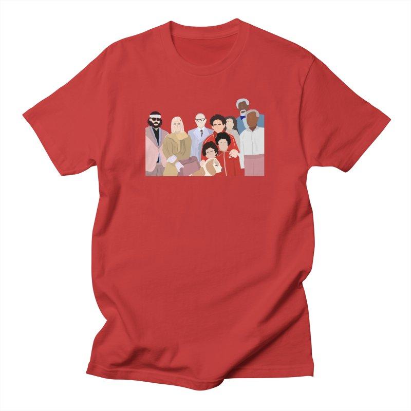 The Royal Tenenbaums Men's T-Shirt by Alison Sommer's Artist Shop