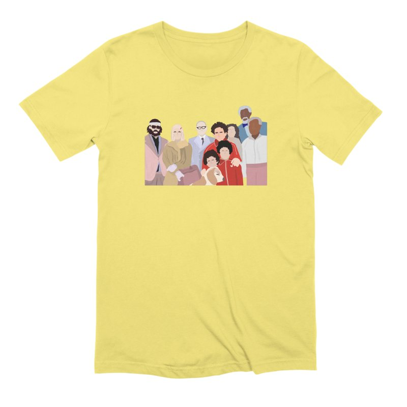 The Royal Tenenbaums Men's Extra Soft T-Shirt by Alison Sommer's Artist Shop